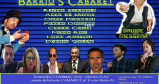 cabaret 14 febbraio2