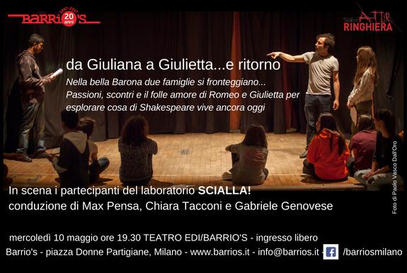 Da Giuliana a Giulietta.... e ritorno