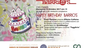 INVITO ANNIVERSARIO BARRIO'S