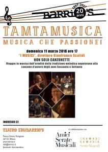 11:3 I MUSICI Tamtamusica 2018