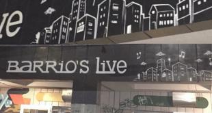 insegna Barrio's Live