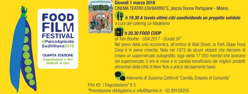 FoodFilmFestival 2018