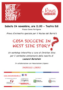Locandina BARRIO'S West Side Story