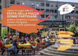 Festa della Piazza Donne Partigiane